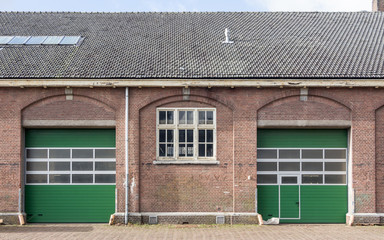 Prins Maurits military complex detail doors