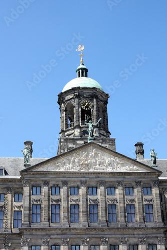 Königliches Schloss in Amsterdam
