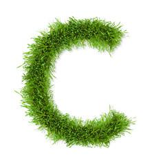 Grass letter