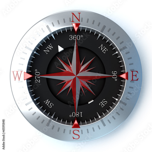 Compass red