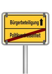 Bürgerbeteiligung vs. Politikverdrossenheit