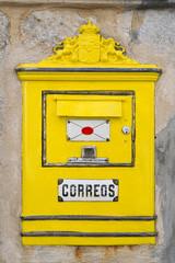 Spanischer Briefkasten