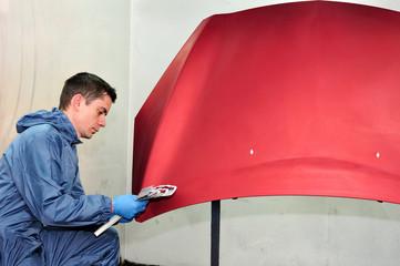 Profesional car painter.