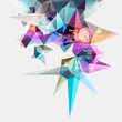 Colorful abstract graph