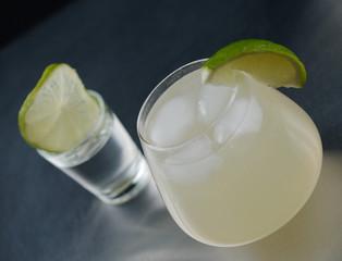 moscow Mule et shot de vodka