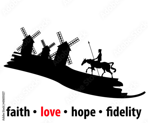 Faith, love, hope and fidelity