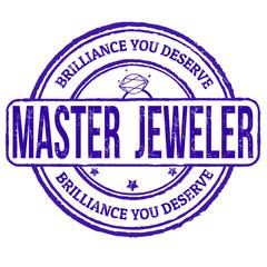 Master jeweler stamp