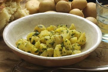 Papas hervidas Patate lesse Boiled potatoes بطاطس مسلوقة