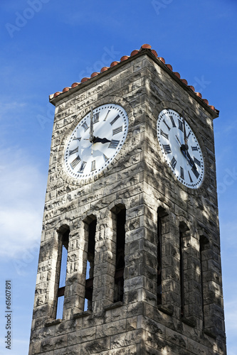 Clock tower in Atlanta