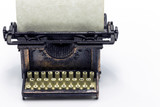 Antique Bronze Typewriter