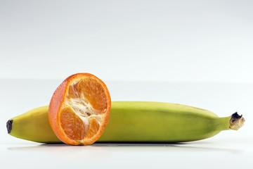 Orange and Banana
