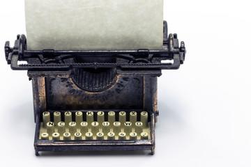 Antique Bronze Typewriter