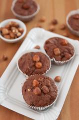 Schokoladen Nuss Muffins