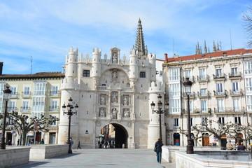 Fachada Arco Santa Maria (Burgos, Camino de Santiago)