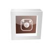 camera icon framed glossy
