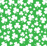 vector white shamrock