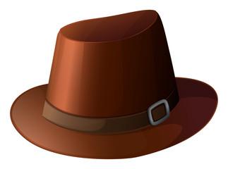 A brown hat