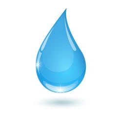 Blue drop towards 2