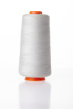 White thread spools