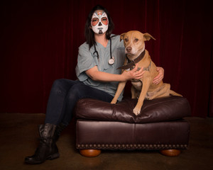 Day of The Dead veterinarian