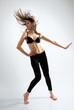 Modern female dancer