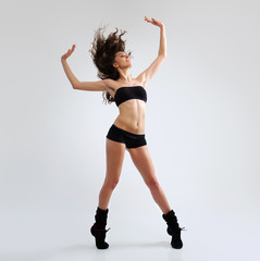 Modern female dancer