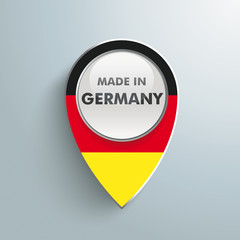 Location Marker made in Germany