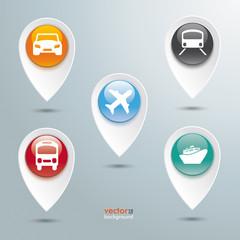 Transportation Location Markes