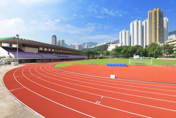 Sport running field