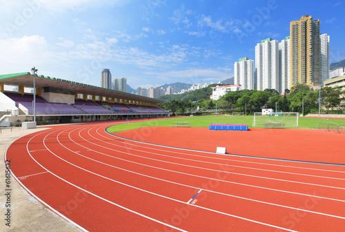 Papiers peints Stade de football Sport running field