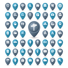 Icons set TRAVEL