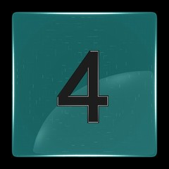 Green icon with number four
