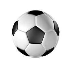 Portrait of soccer ball - High resolution