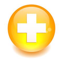 bouton internet health orange