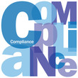 """""""COMPLIANCE"""" Letter Collage (process improvement lean business)"""