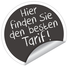 Hier finden Sie den besten Tarif!