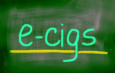 Electronic Cigarette Concept