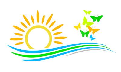 Landschaft - Frühling - Logo - 3