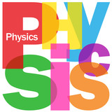 """PHYSICS"" Letter Collage (science research equations experiment)"