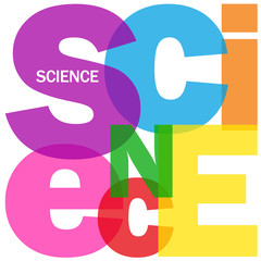 """""""SCIENCE"""" Letter Collage (scientific research experiment maths)"""
