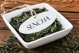 Sencha - Grüner Tee poster