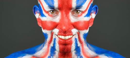 Man face United Kingdom