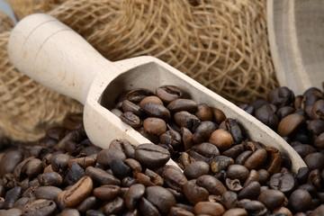 Schmackhafte Kaffeebohnen