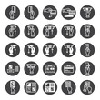 banking icons set