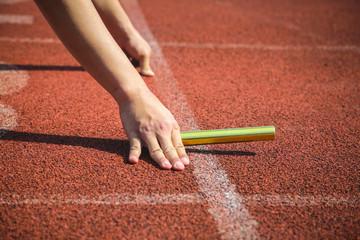 Runner hold boton