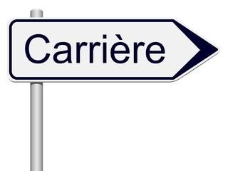 Panneau indicateur Carrière