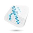 laufen sport symbol modern icon