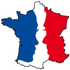 élections françaises, candidats, parité femme / homme