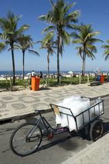 Ice Vendor Cart Rio de Janeiro Brazil