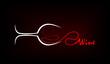 Wine Glasses Vector - 61626822